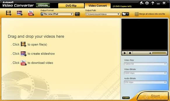 Aviosoft Video Converter