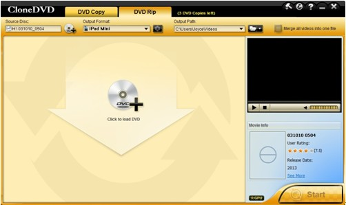 CloneDVD-DVD Ripping Software