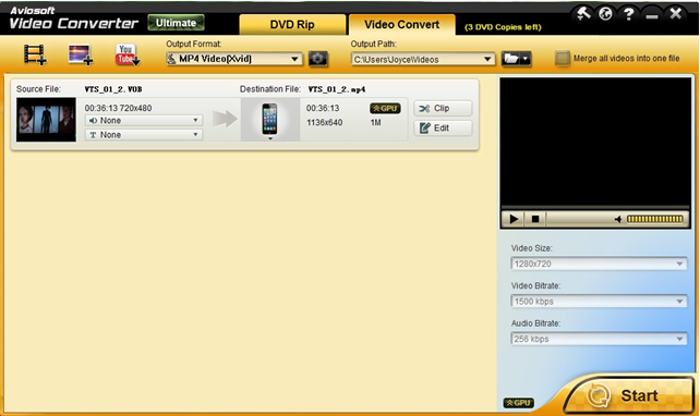 How to Convert MPEG to MP4 for Playback on iPhone4/4S/5, iPad2/3/Mini, iPod and other Apple Devices