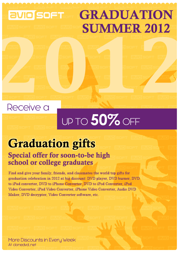 best college graduation gifts 2012 for him or her at clonedvd.net