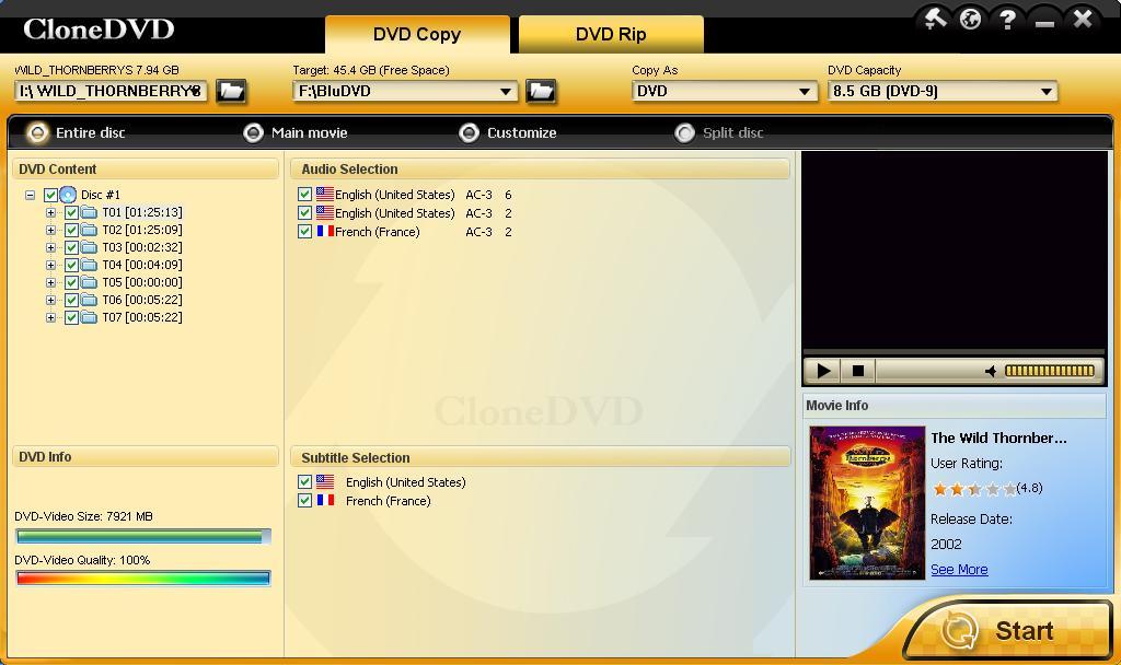 How to Decrypt DVD with CloneDVD – DVD Copy model
