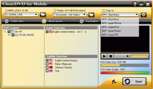 Rip, Convert DVD movies to MP4 with DVD to MP4 Ripper