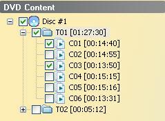 dvd content area