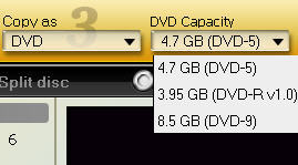 set dvd as output