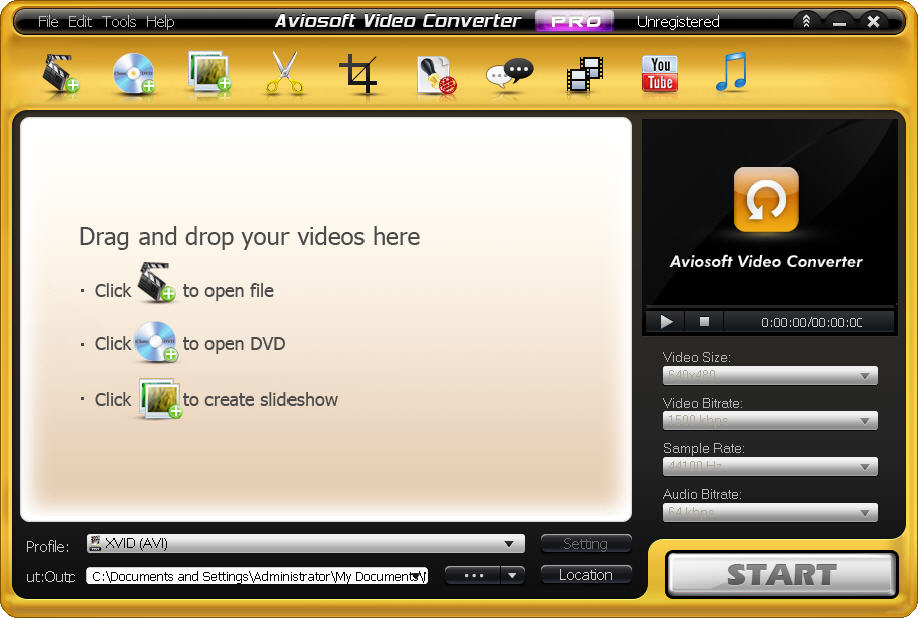 video converter - convert DVD to DivX