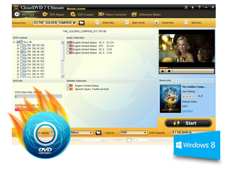 CloneDVD 7 Ultimate - Best DVD Copy Software to Clone, Copy