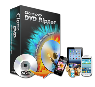 CloneDVD DVD Ripper - Rip DVD to MP4 MKV AVI H264 iPad