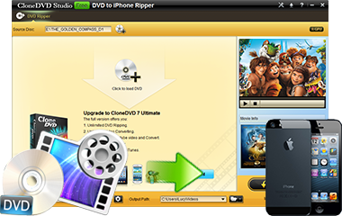 Convert DVD to iPhone 5S/5C