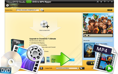 Clonedvd Studio Free Dvd To Mp4 Ripper Rip And Convert Dvd To Mp4 Easily