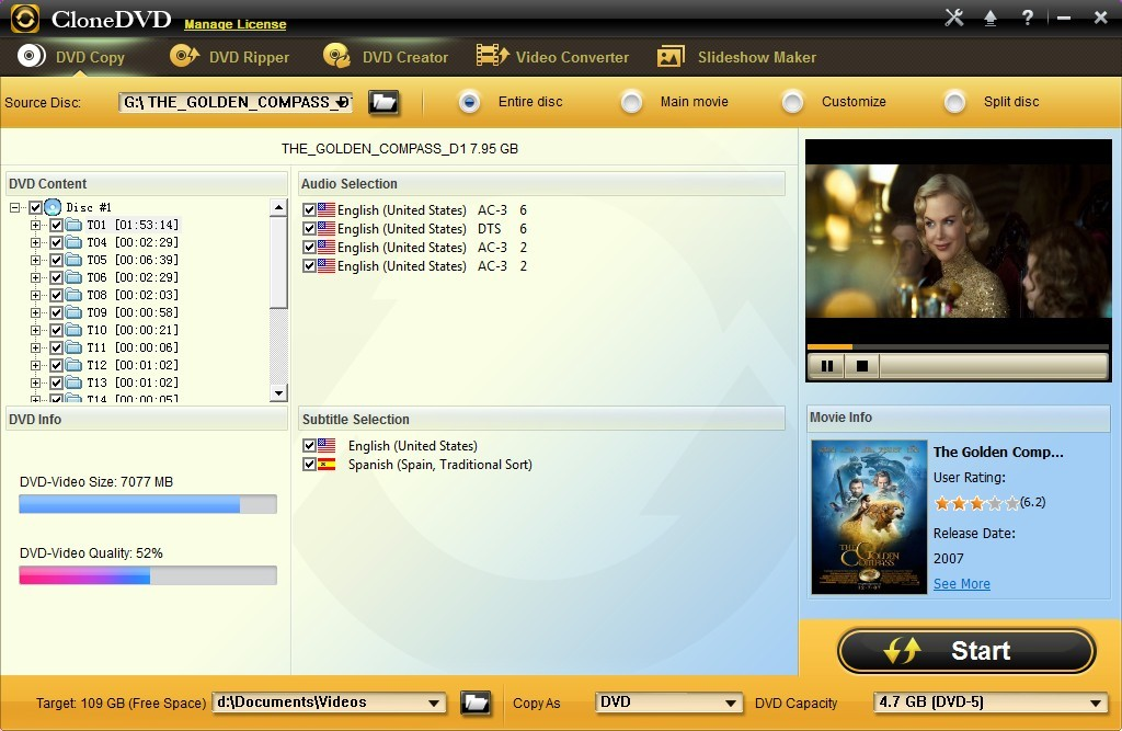 CloneDVD Studio DVD Copy 7.0.0.8