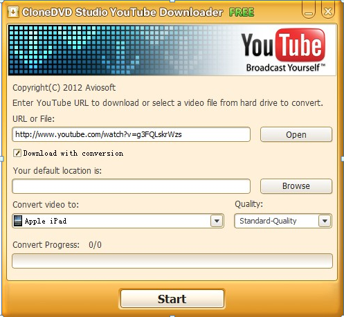 CloneDVD Studio YouTube Downloader-1